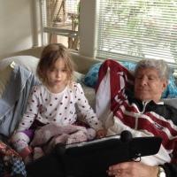 Alia and Grandpapa