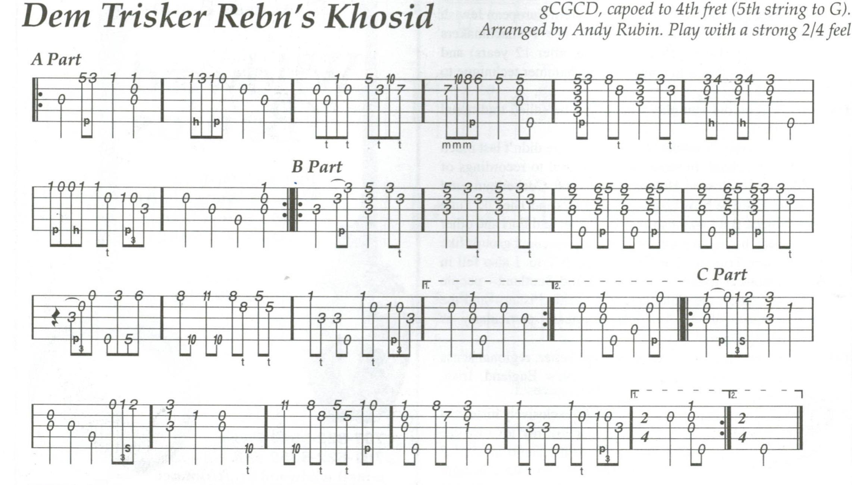 Dem Trisker Rebn's Khosid