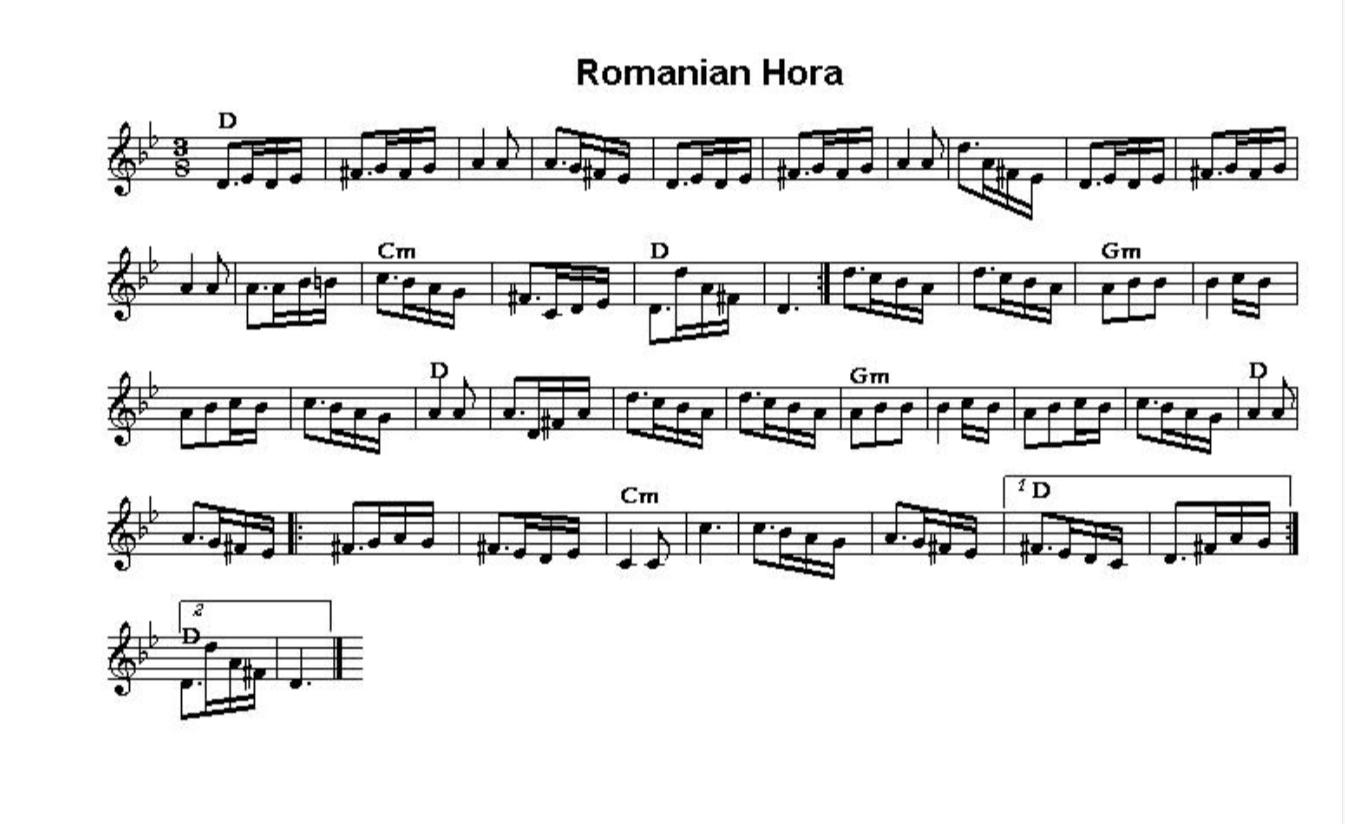 Romanian Hora